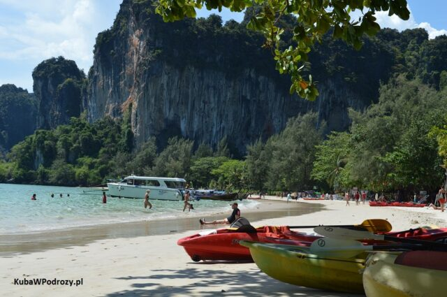 Plaża na Railay West