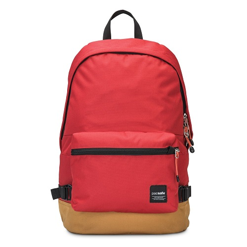 Plecak pacsafe, dzięki zastosowanym technologiom praktycznie nie do obrobienia.