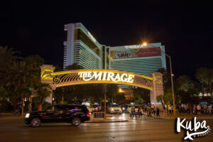 Mirage Strip Las Vegas