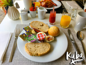 DoubleTree by Hilton Hotel Wrocław śniadanie