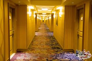 Bellagio - korytarz