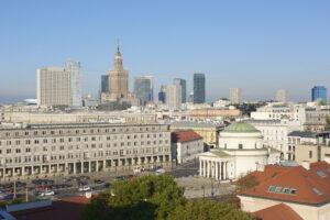 Sheraton Warsaw - widok na miasto