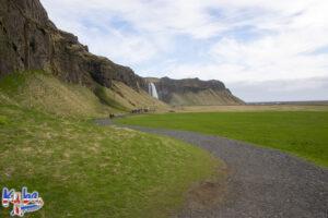 Wodospad Seljalandsfoss