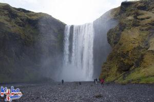 Wodospad Skógafoss