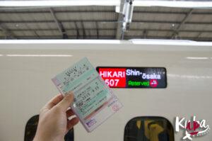 JR Pass i mój Shinkansen Hikari do Osaki