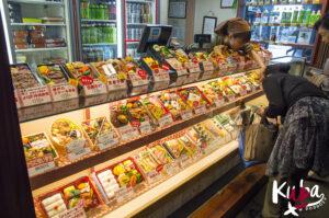 Kiosk z bentoboxami