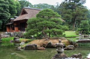 Kioto Imperial Palace - ogrody
