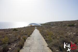 Malta - droga do kompleksu Ħaġar Qim