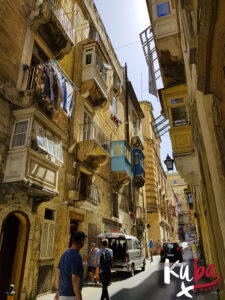 Malta - ulice w Valetta