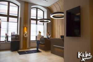 AC Hotel by Marriott Wrocław - recepcja