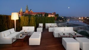 Sheraton Grand Kraków - Roof Top Terrace Lounge Bar