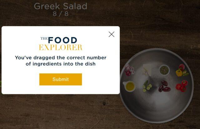 The Food Explorer - rozwiązanie zagadki dnia 1