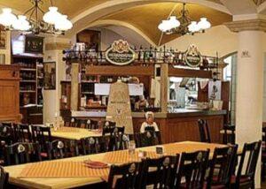 Weissbrauhaus zum Herrnbrau Ingolstadt. Bar.