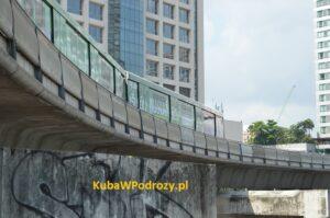 Kolejka BTS Bangkok.