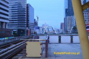Stacja BTS Silom Bangkok.