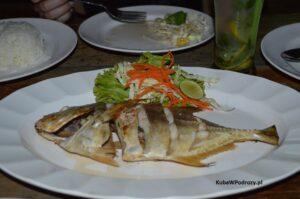 Railay - rybka z grilla.