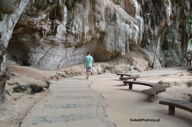 Railay ścieżka do zatoki