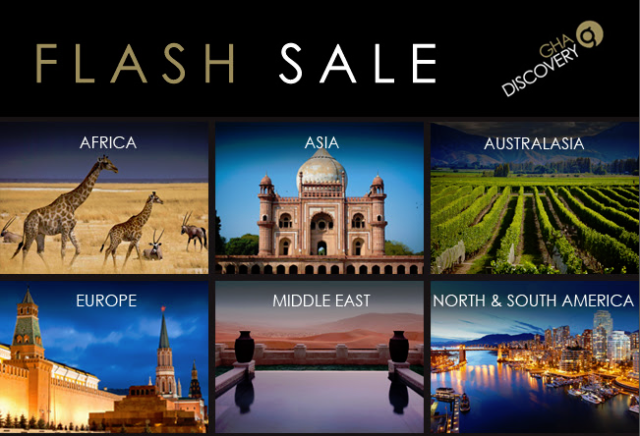 GHA Discovery Flash Sale