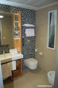 Novotel Roma EUR - pokój de luxe - łazienka
