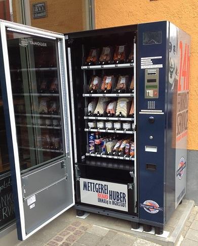 Automat z mięsem :)