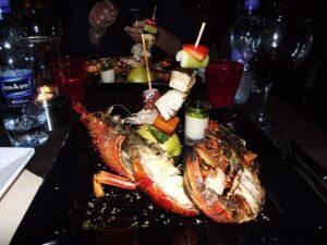 Homar w O'Grille Beach Bar & Restaurant