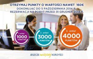 Promocja Accor Hotels - nawet 160€ do zyskania