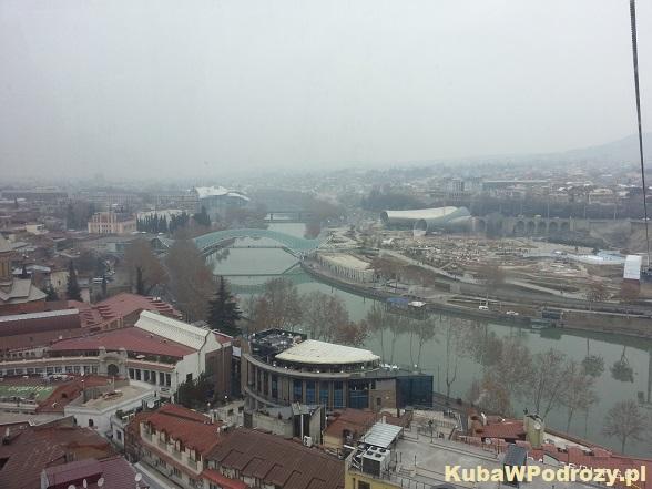 Tbilisi - Most Wolności i Park Europejski