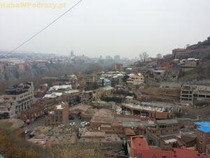 Tbilisi - dzielnica łaźni Abanotubani
