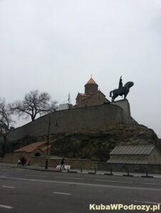 Tbilisi - twierdza Narikala