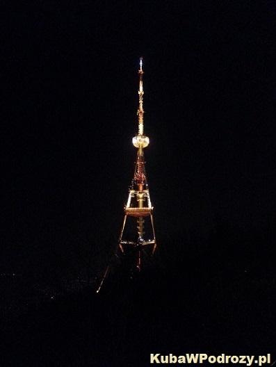 Tbilisi - wieża telewizyjna