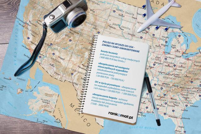 Ubezpieczenia podróżne USA - zalecane sumy ubezpieczeń.