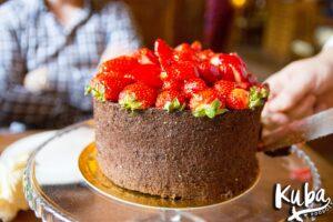 Stary Dom - tort truskawkowy