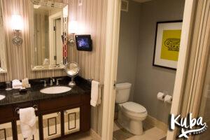 Caesars Palace Julius Luxury Studio łazienka
