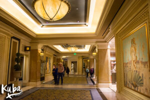 Caesars Palace korytarz