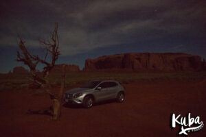 Monument Valley nocą