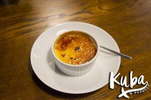 Stół na Szwedzkiej - crème brûlée