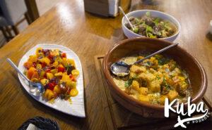 Stół na Szwedzkiej dania główne