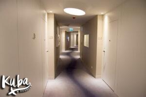 DoubleTree by Hilton Hotel Wrocław korytarze