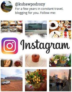 Instagram Kuba W Podróży