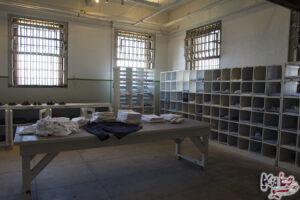 Alcatraz - punkt przyjęć nowych skazanych