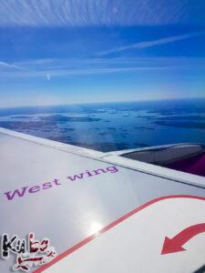 WOW air - gdzies nad Islandia
