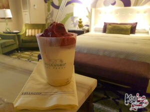 Bellagio - mała porcja lodów (0,5l)