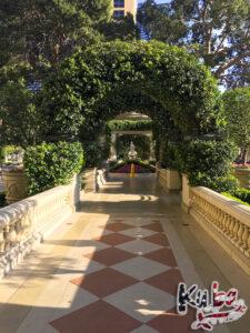 Bellagio - strefa basenów