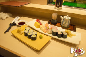 Sushi w jednej z lepszych restauracji
