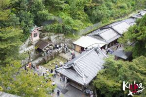 Kiyomizu-dera - słynne 3 strumienie