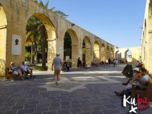 Malta - Górne ogrody Barrakka