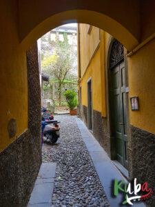 Bergamo - jedna z bram starego miasta