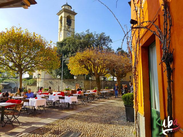 Bergamo - wzgórze zamkowe