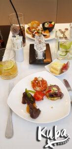 Sheraton Grand Kraków - kolacja w Club Lounge