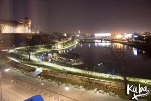 Sheraton Grand Kraków - widok z okna